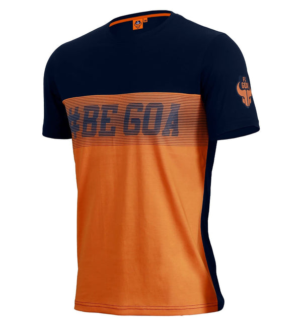 "FC Goa ""Be Goa"" Cut and Sew T-Shirt"