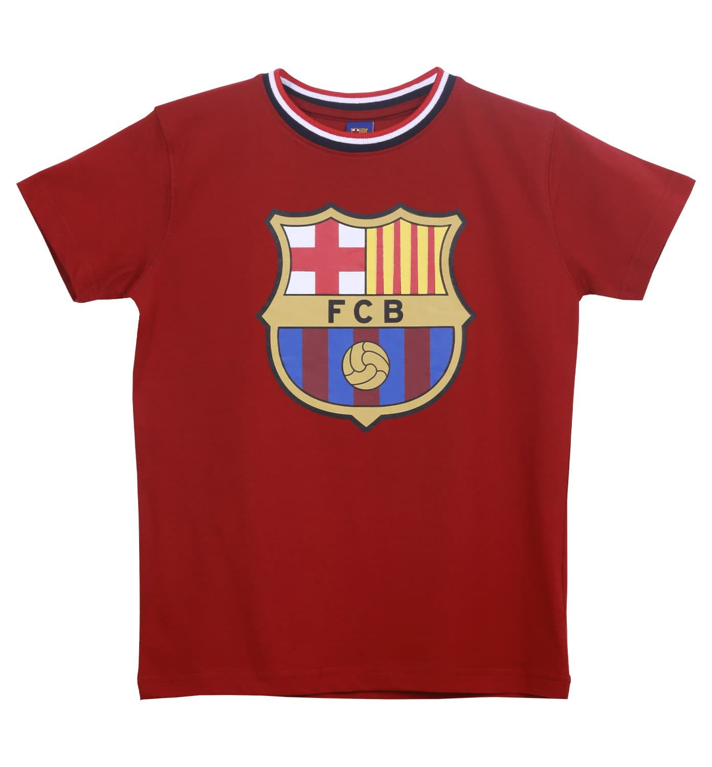 FC Barcelona Kids Chest Print T-Shirt