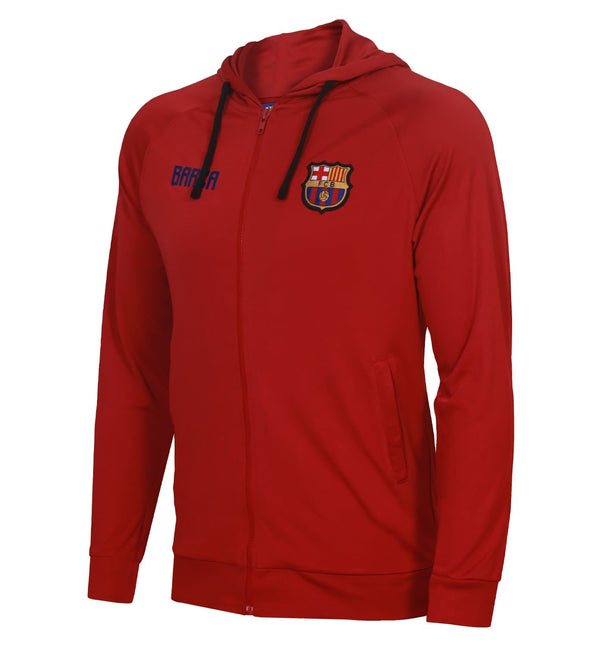 FC Barcelona Hoodie with Zipper
