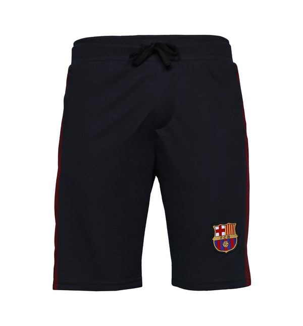 FCB Black Printed Shorts
