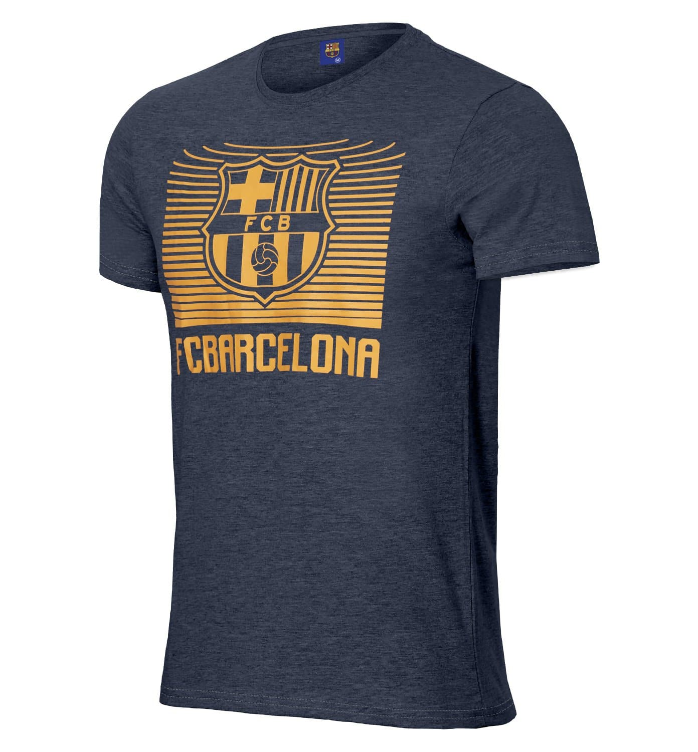 FC Barcelona Gradient Printed T-Shirt