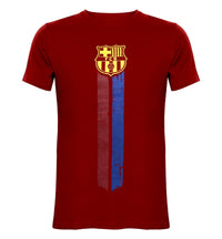 FCB Red Printed Round Neck T-Shirt