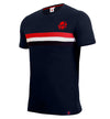 ISL Striped Logo T-Shirt