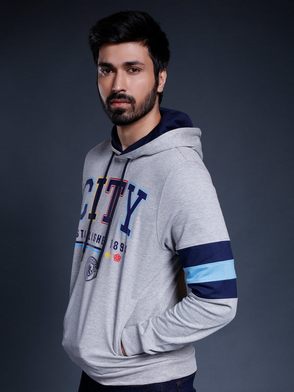 Manchester City Graphic Print Hoodie