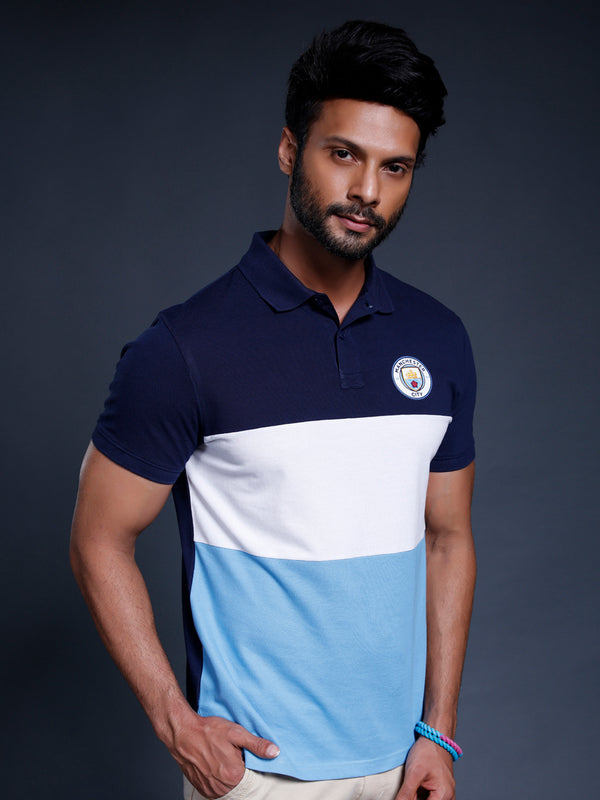 Manchester City Colourblocked Polo
