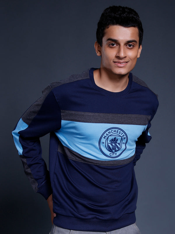 Manchester City Panelled Sweatshirt