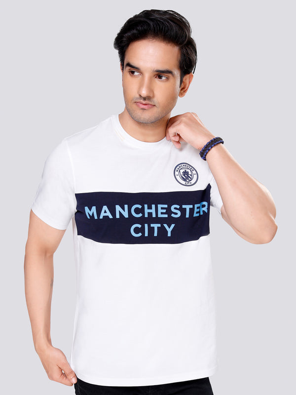 Manchester City Panelled T-Shirt