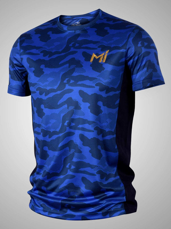 Mumbai Indians Kids Official Camo Print T-Shirt