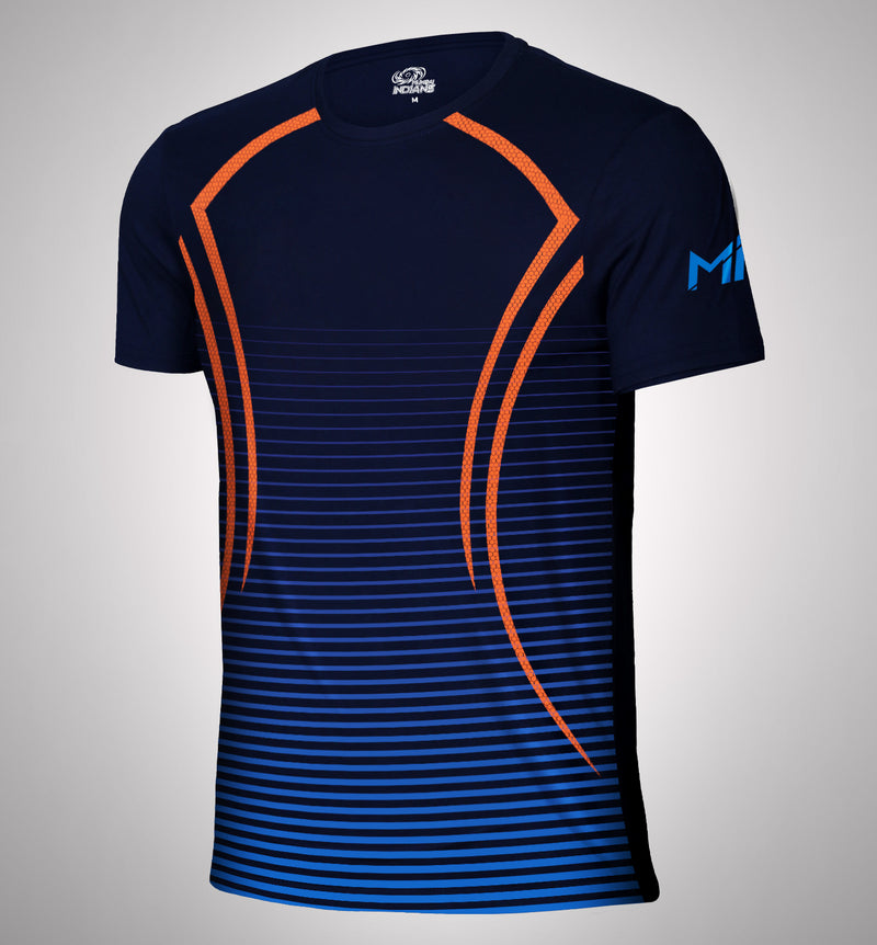 Mumbai Indians Dry Fit T-Shirt Ombre Print