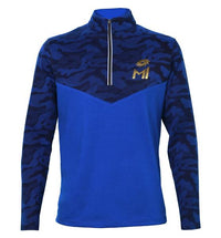 Mumbai Indians Blue Printed Sweatshirt