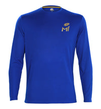 Mumbai Indians Blue Printed T-Shirt