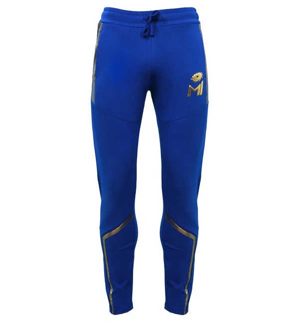 Mumbai Indians Gold foil Cut & Sew Trackpant