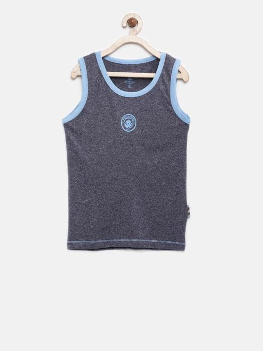 Manchester City Kids Sleeveless T-Shirt