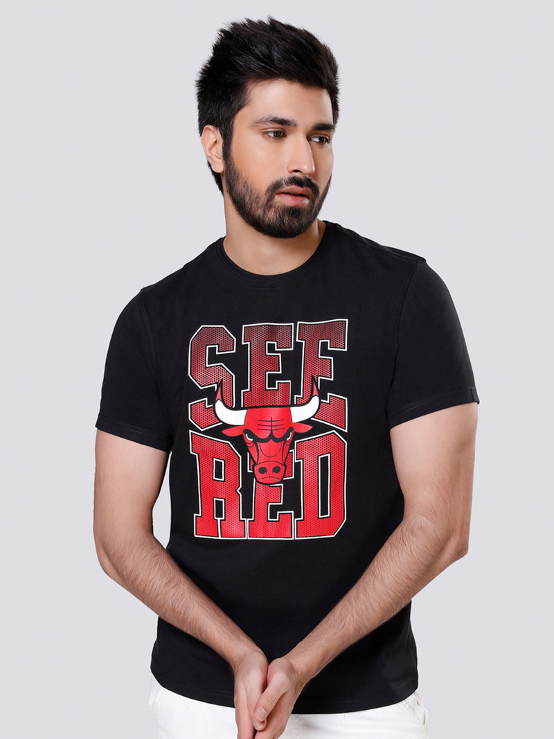 "Chicago Bulls ""See Red"" Graphic T-shirt"