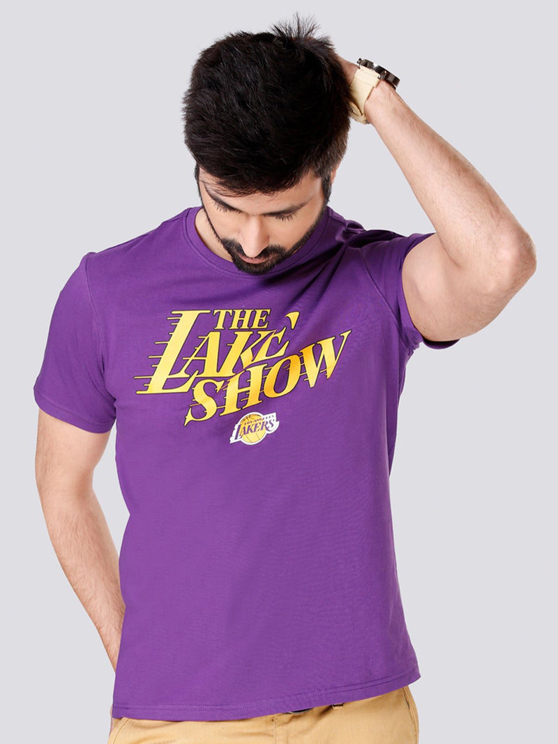 "Los Angeles Lakers ""The Lake Show"" Graphic T-Shirt"
