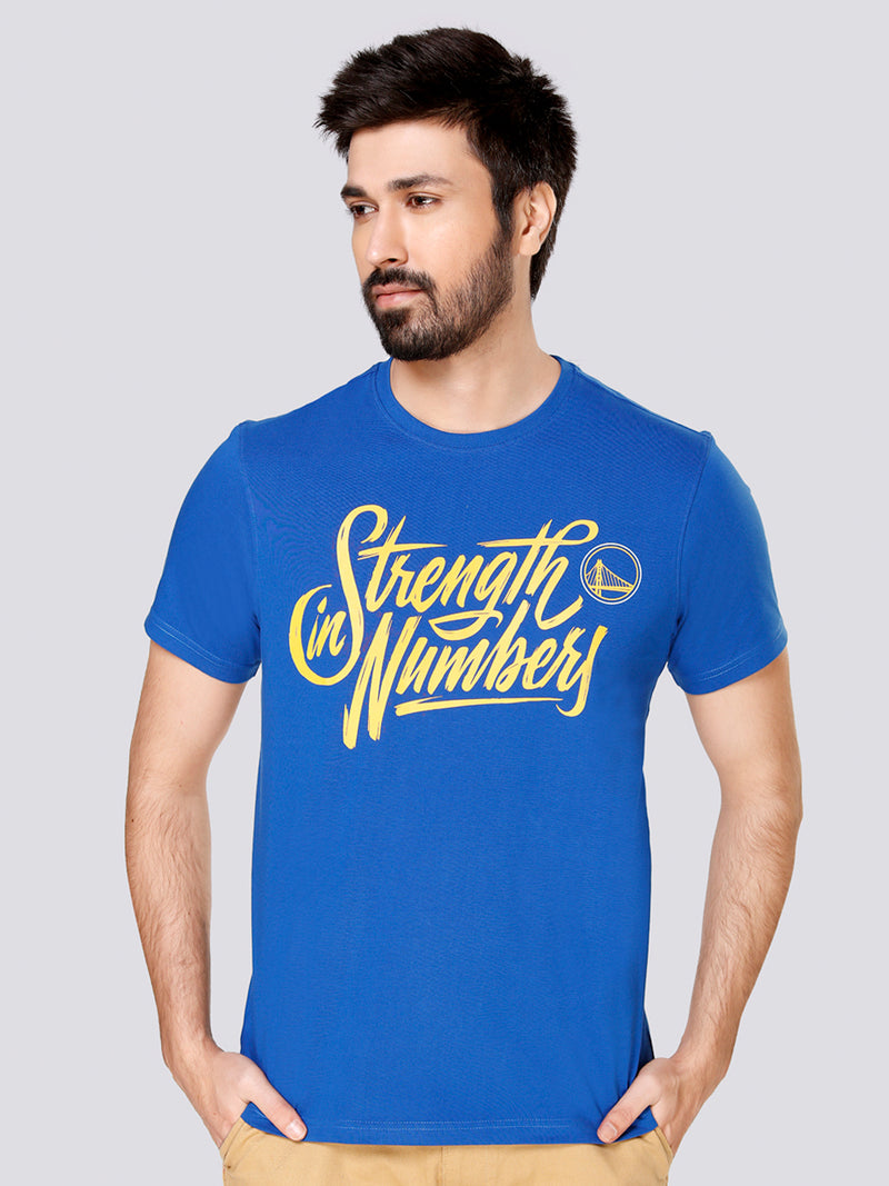 "Golden State Warriors ""Strength in Numbers"" Graphic T-Shirt"