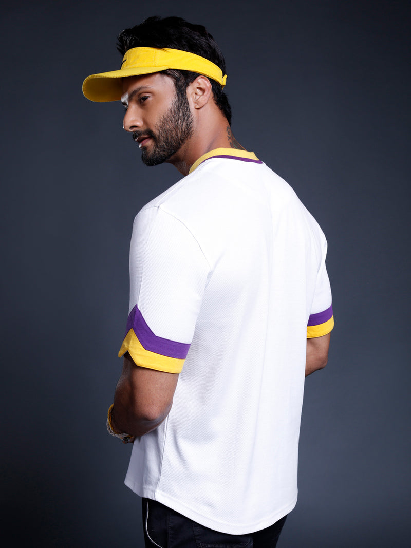 Los Angeles Lakers Bomber Henley