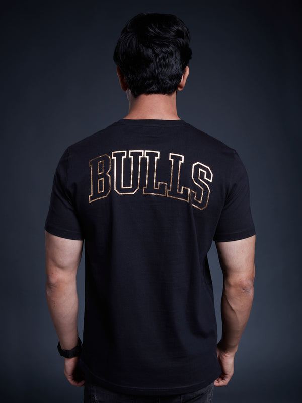 Chicago Bulls Gold Foil T-shirt