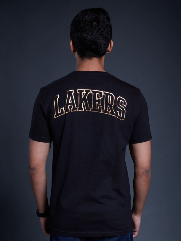 Los Angeles Lakers Gold Foil T-shirt