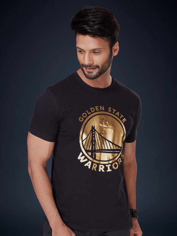 Golden State Warriors Gold Foil T-shirt