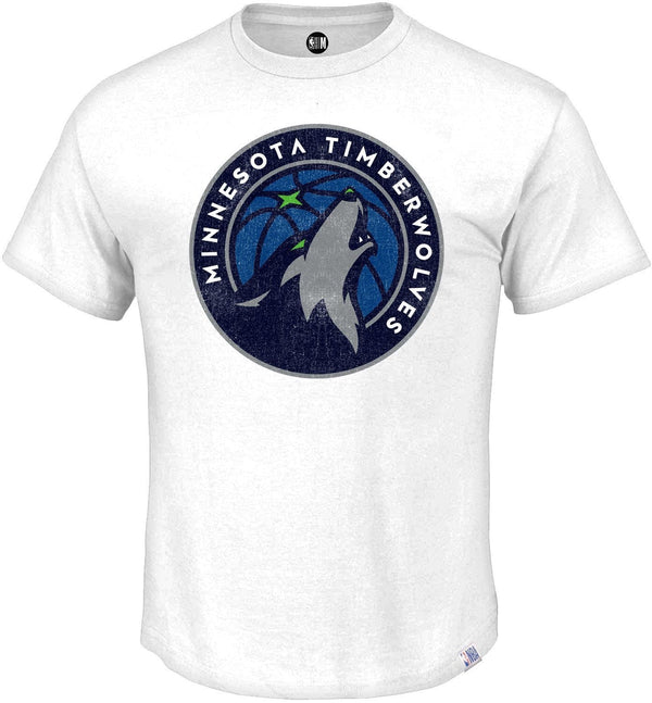 NBA Minnesota Timberwolves Printed Round Neck T-Shirt