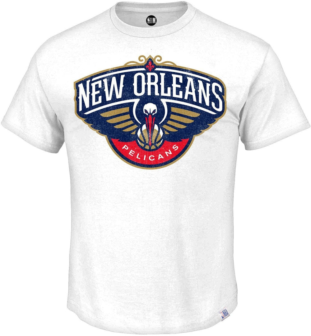 New Orleans Pelicans Printed Round Neck T-Shirt