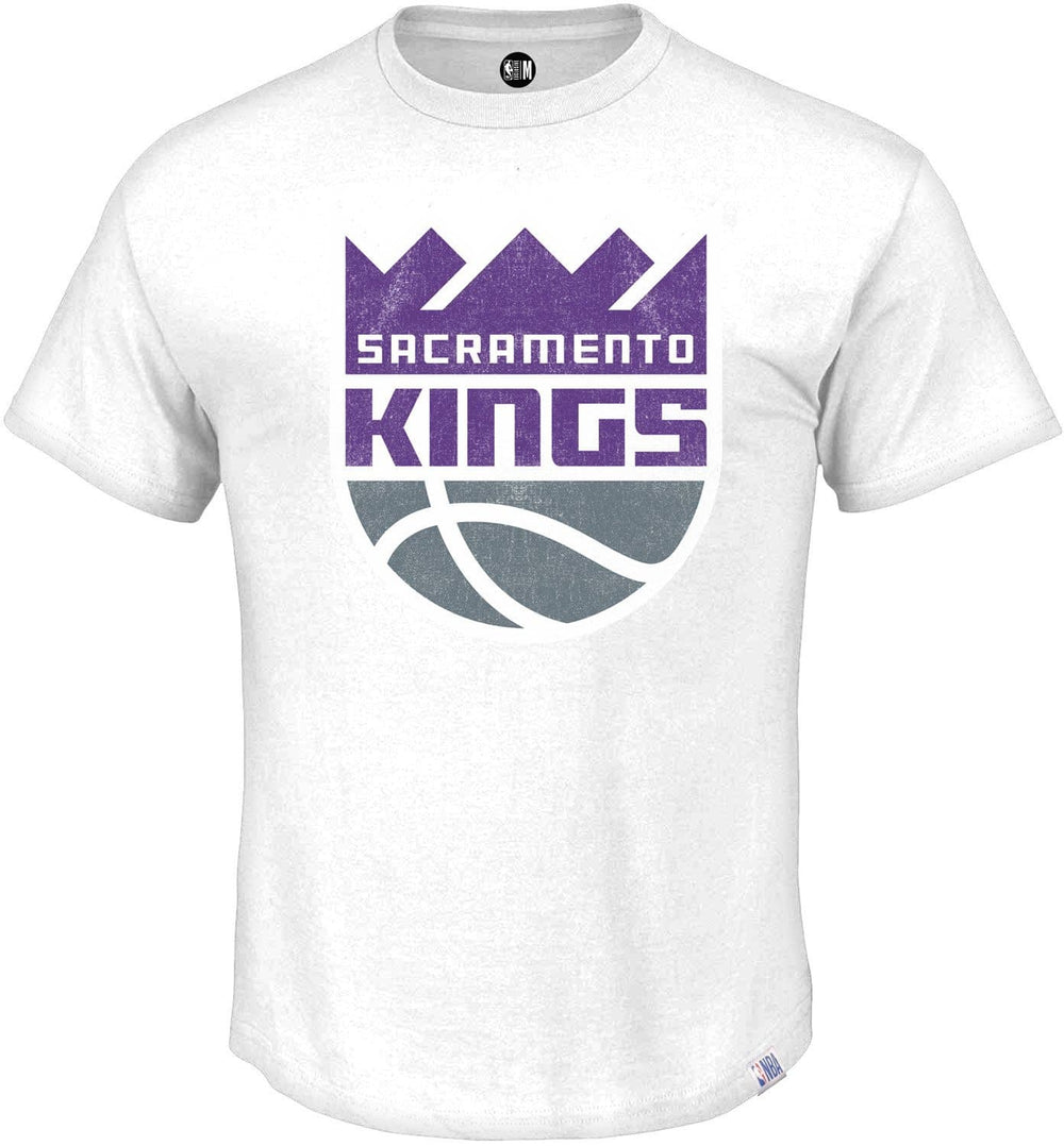 Sacramento Kings Printed Round Neck T-Shirt