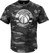 Washington Wizards Camo T-Shirt With Foil Chest Print