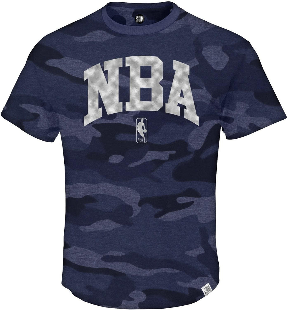 NBA Camoflauge Round Neck T-Shirt