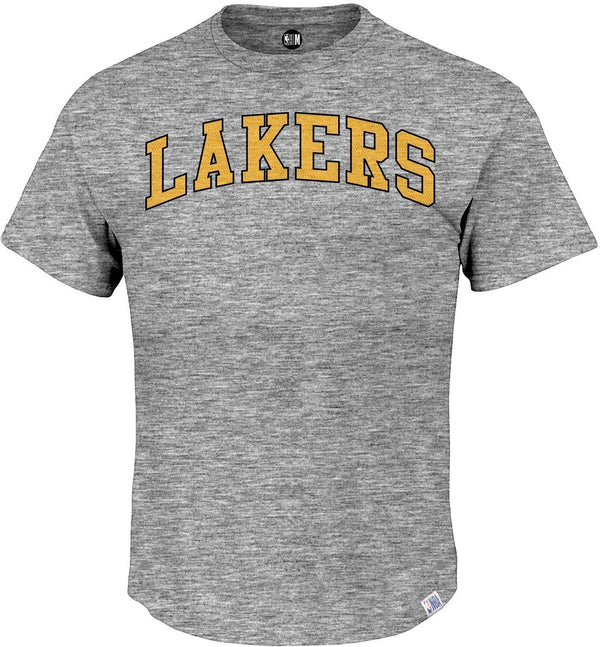 "Los Angeles Lakers Printed ""Lakers"" Round Neck T-Shirt"
