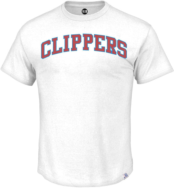 NBA La Clippers White Printed Round Neck T-Shirt