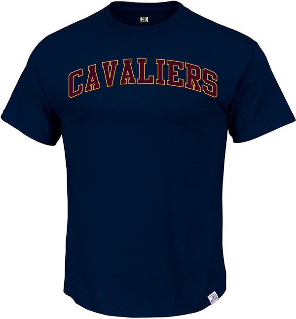 NBA Cleveland Cavaliers Navy Printed Round Neck T-Shirt