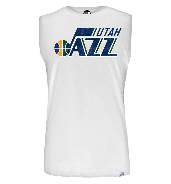 Utah Jazz Printed Sleeveless T-Shirt