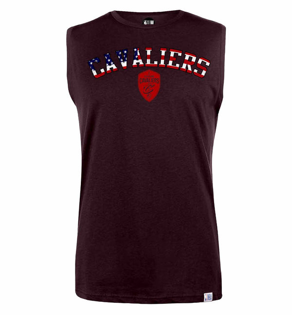NBA Cleveland Cavaliers Solid Sleeveless T-Shirt
