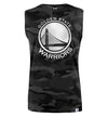 NBA Golden State Warriors Olive Camoflauge Sleeveless T-Shirt
