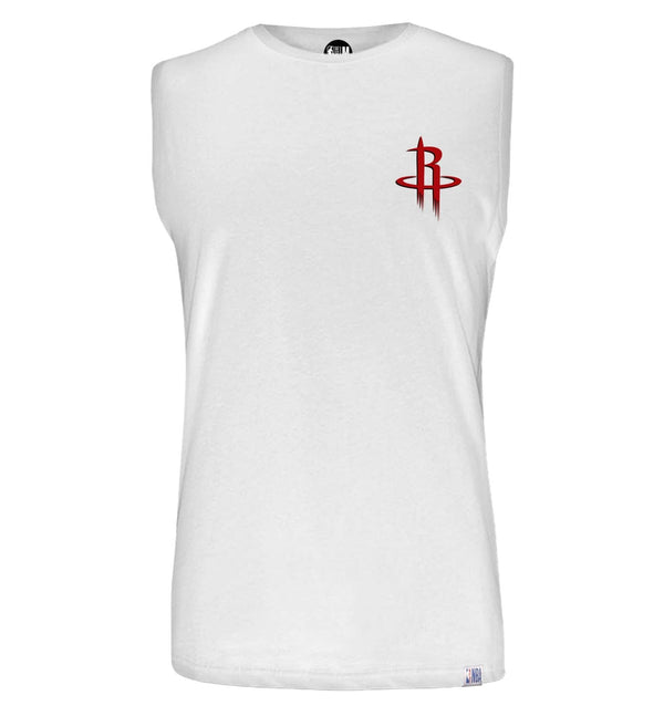 Houston Rockets Solid Sleeveless T-Shirt