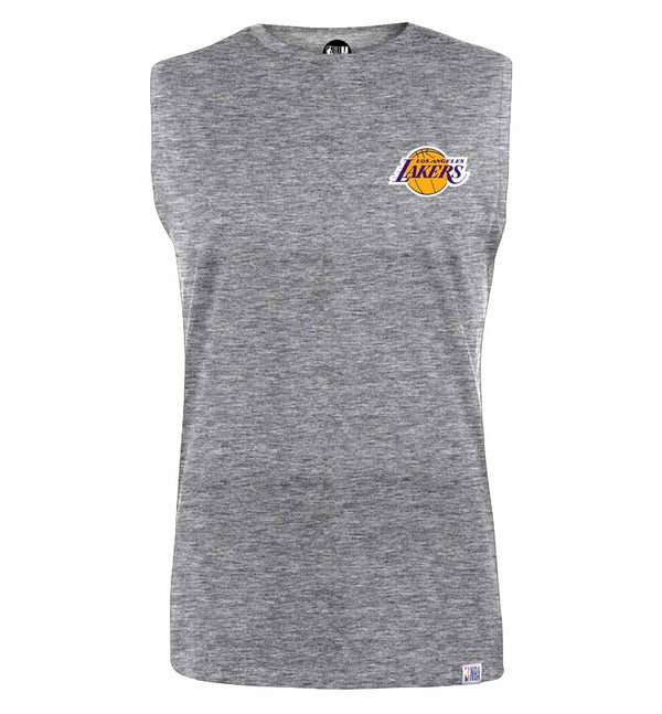 Los Angeles Lakers Solid Sleeveless T-Shirt