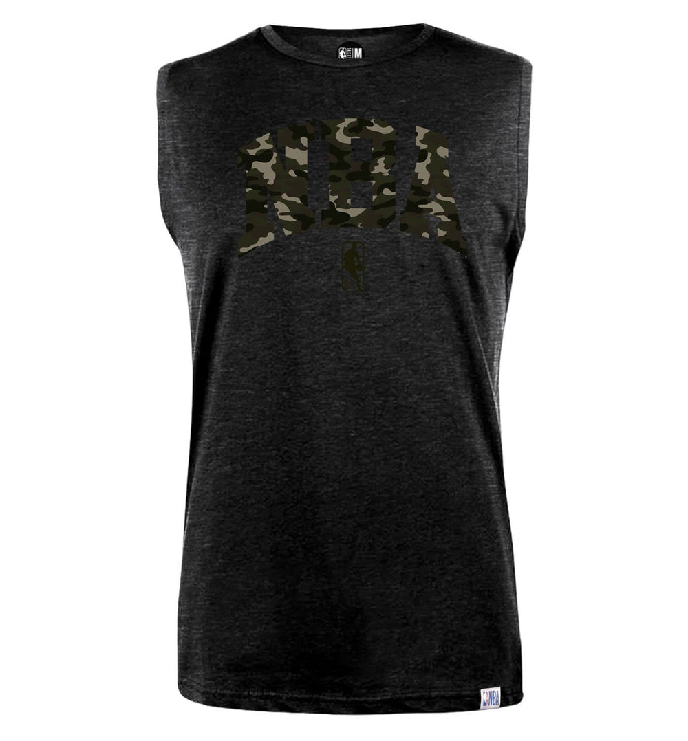 NBA Camoflauge Printed Sleeveless T-Shirt
