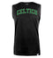 NBA Boston Celtics Charcoal Printed Sleeveless T-Shirt