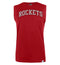 NBA Houston Rockets Black Printed Sleeveless T-Shirt