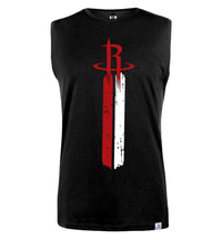 Houston Rockets Printed Sleeveless T-Shirt