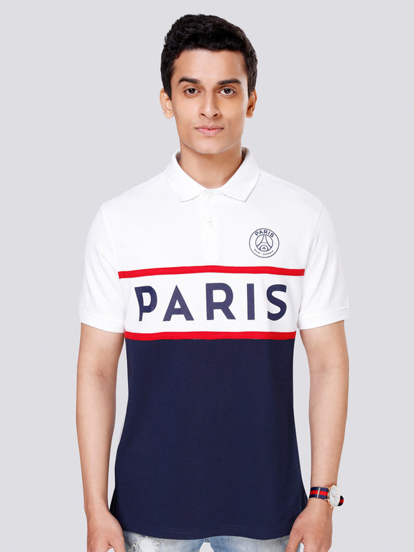 Paris Saint-Germain Colorblocked Polo