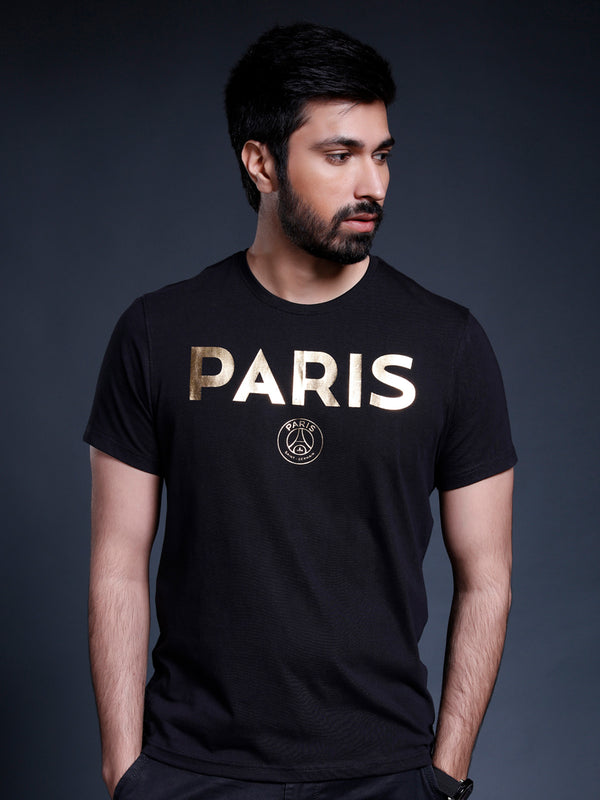 Paris Saint-Germain Gold Foil T-shirt