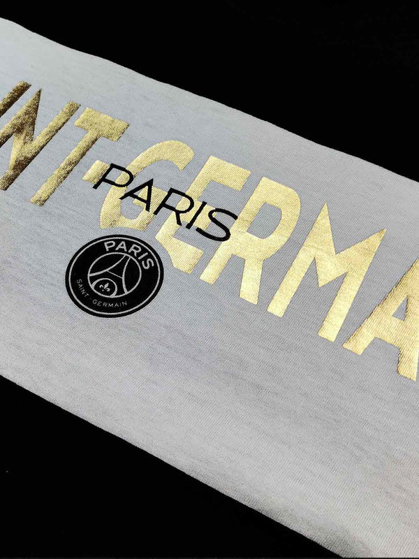 Paris Saint-Germain Panelled Gold Foil T-shirt