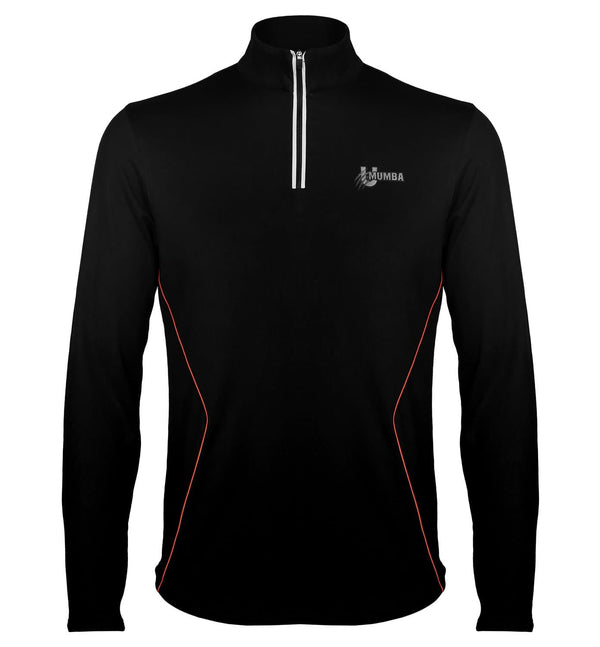 U Mumba High Neck Reflective Sweatshirt