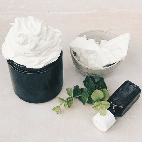Maker and Merchant whipped body butter