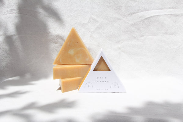 maker + merchant by wild lather handmade herbal soap collaboration
