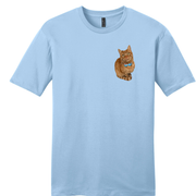 Custom Cat Tee (Pocket Print)