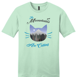 "Load image into Gallery viewer, ""Meowtains Are Calling"" Soft Tee"