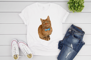 Custom Cat Tee (Large Print)